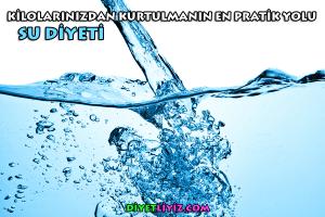 su diyeti nedir