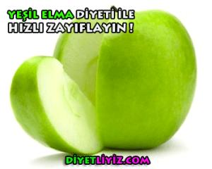 yeşil elma diyeti ile zayıflama