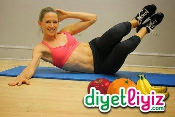 egzersiz ile zayıflama