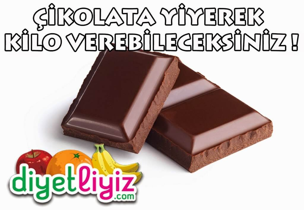 çikolatalı diyet